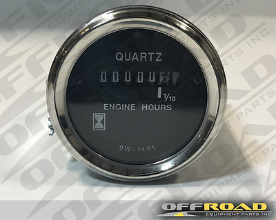 9W1491, 9W-1491 New Aftermarket Analog Hour Meter for Caterpillar D6D, D7G, 953
