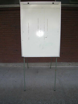 Large White Board on Stand