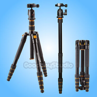 Professional A-255 Aluminum 2 in 1 Combo Tripod / Monopod with Ball Head fr DSLR