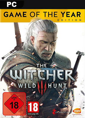 The Witcher 3 III Wild Hunt GOTY [DE/EU] GOG PC CD Key Code Game Of The Year