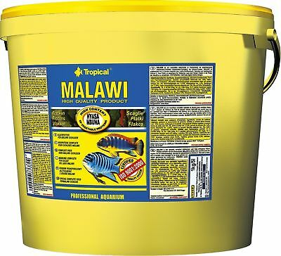 Tropical Malawi Flocken 11 Liter Flockenfutter!!