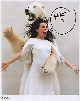 Bjork SIGNED Photo 1st Generation PRINT Ltd 150 + Certificate (8)