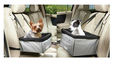 Elevated Car Seats for Dogs - Sightseer II Raised Travel Dog Vehicle Seat & Bag