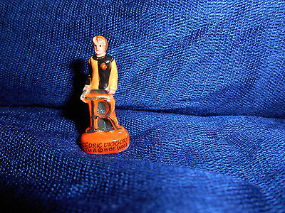 """CEDRIC DIGGORY LETTER """"R"""" HARRY POTTER ABC Mini Figurine FRENCH Porcelain FEVES"""