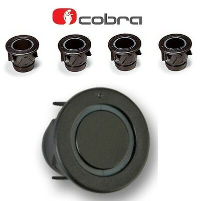 Cobra R0194 4 Way Car Reversing Parking Sensor Kit 25mm black A0158