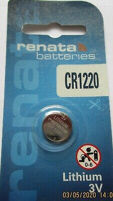 Renata Lithium Batterie CR1632, ED: 11.2025 - 3 Volt, Swiss Made. DL1632