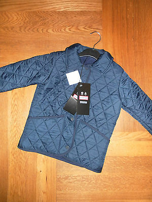 Girls Hunter Quilted Equestrian Jacket 4-5/6-7 Years 012714