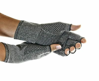 New Imak Active Gloves 1 Pair Arthritis Compression Relieves Pain All Sizes