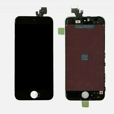 Black LCD Display+Touch Screen Digitizer Assembly Replacement for iPhone 5 OEM