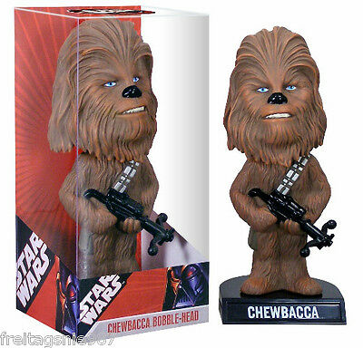 STAR WARS CHEWBACCA PVC bobble-head 17cm Funko