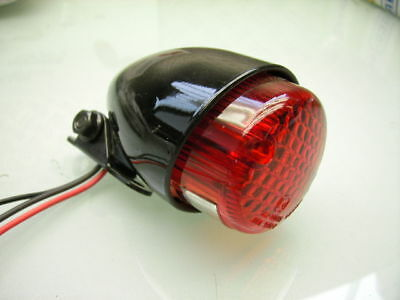 "Stop Rear Tail Light ""dirt Flat Tracker Old School"" Mini Rücklicht Xt 500 Xt 250"