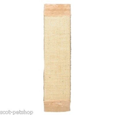 Sisal Scratching Board Beige With Plush For Cats & Kittens 62 cm 43071