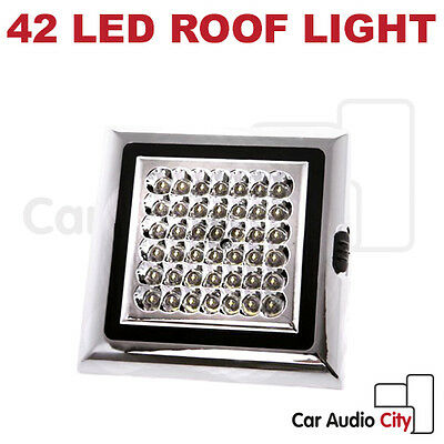 42-LED light Bright White Auto Car/Van Roof Ceiling Dome Interior DC12V 5W