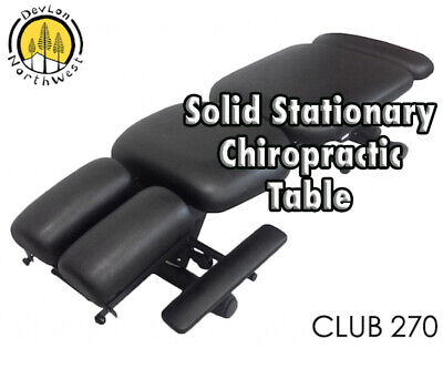 DevLon NorthWest Stationary Chiropractic Adjustable Table Club 270