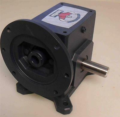 "Grove Gear Iron Man  Speed Gear Reducer Ratio 10:1  Input 2.464HP  Shaft 1""  NEW"