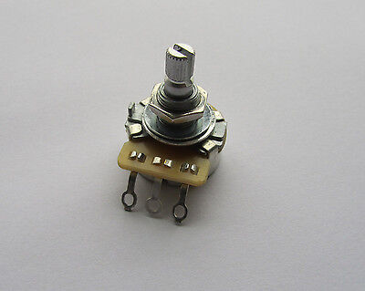 250K CTS Guitar Linear POTS Split Shaft Potentiometer B250K