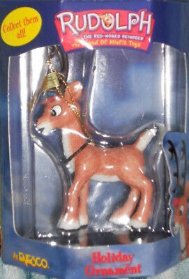 Rudolph Red-Nosed Reindeer Ornament Rudolph Island of Misfit Toys CVS  Rare
