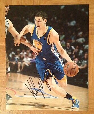 Klay Thompson Golden State Warriors Signed Autographed 8x10 Photo COA
