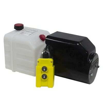 Flowfit 12VDC Single Acting Hydraulic Power pack with 4.5L Tank ZZ003468