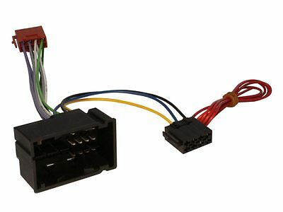CT20FT04 Fiat 500L 2012 on ISO Stereo Head Unit Wiring Adapter Lead