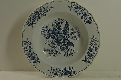 Worcester (possibly)  soup bowl, pinecone pattern.marked, ex cond., 1770