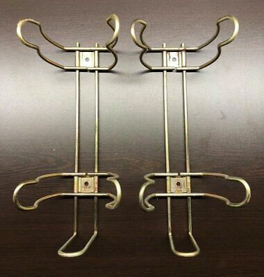 (2)-5 lb. SPRING/TENSION CLIP UNIVERSAL FIRE EXTINGUISHER VEHICLE BRACKETS