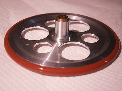 Lenco NEW IDLER WHEEL LENCO L75  L78 SHAFT 2.45 PULEGGIA LENCO  L78 75 2.45  ITA