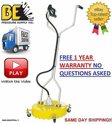 Be Pressure Whirl-A-Way 18'' Flat Surface Cleaner-Washer - Concrete Cleaner 18 ""