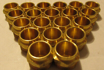 NEW LOT OF 20 Woodford 30107 Model 24 Brass Packing Nuts