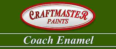 Craftmaster Coach Enamel Land Rover 1970s Colours Brush Paint