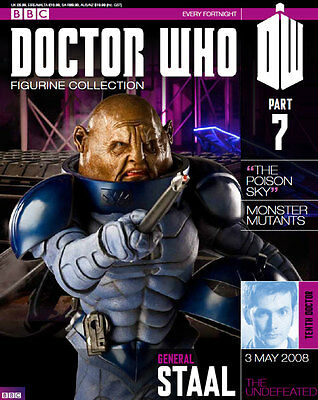 Doctor Who Figurine Collection Issue 7 Sontaran General Staal Factory Sealed New