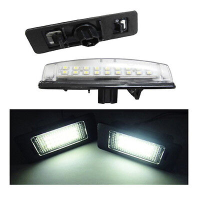 18 Smd Lexus Gs 300 Number Plate Led Replacement Units 1 X Pair 6000K