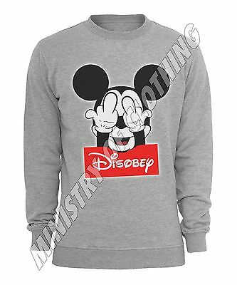 pj005 rock paper scissors mickey mouse hand obey sweater
