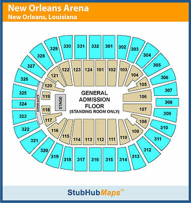 311 Tickets 03/11/14 (New Orleans)