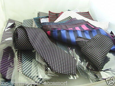 "Any > Mens Ties - 100% Silk Necktie and Hankie Sets > 3.5"" = 9cm Widest Point"