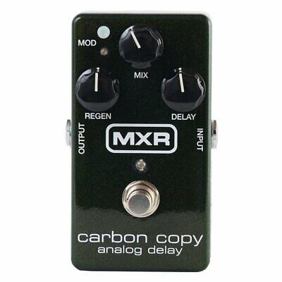 NEW MXR M169 Carbon Copy Analog Delay Guitar Effects Pedal