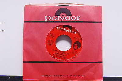 """JAMES BROWN """"People Who Criticize' 7"""" SOUL Funk 45rpm company sleeve"""