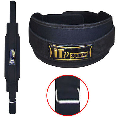 Weight Lifting Belt Gym Training Back Support Belt Body Building WIDE 6""