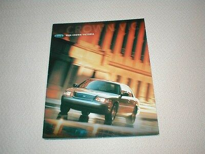 Original year 2000 Ford Crown Victoria New Car Brochure