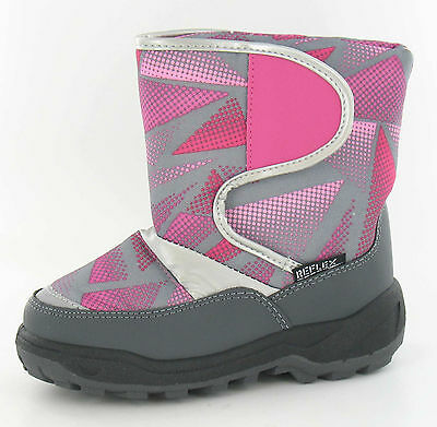 Wholesale Girls Snow Boots 16 Pairs Sizes 7-12 H4067