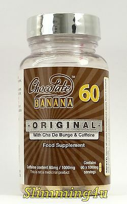 CHOCOLATE BANANA Original - 60 Slimming Tablets  With FAST SAME DAY DISPATCH