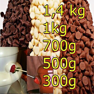 Chocolate for fountain milk Dark White Party Celebration Decorations 1,4kg1kg5,0