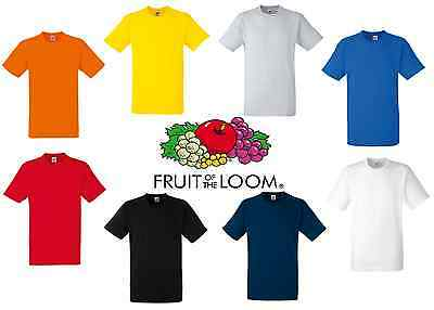 Fruit of the Loom Heavy Cotton T-shirt 8 Colours!! (Free P&P)