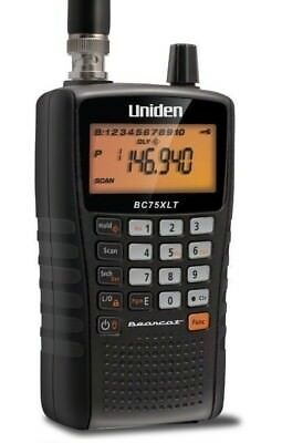 VHF//UHF Systems Uniden Bearcat BC75XLT Compact Handheld Scanner
