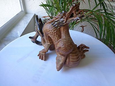Original Andrea by Sadek Rare Fully Fired Dragon Figurine Mint!