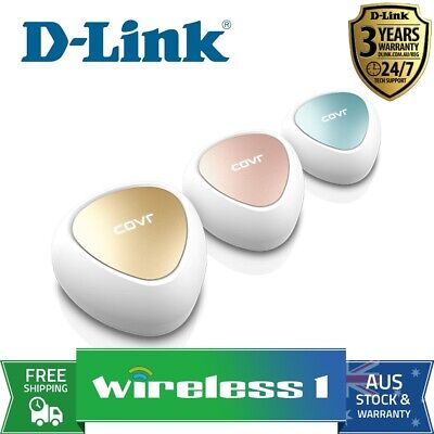 D-Link COVR-C1203 AC1200 Dual Band MESH System 3-Pack