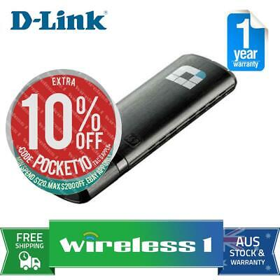 D-Link DWA-182 Wireless AC1200 Dual Band USB
