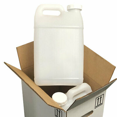 2.5 Gallon Clear Container Mixing Jugs -2 Count