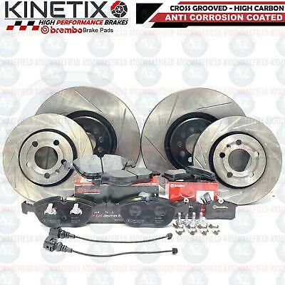 Vw golf mk4 r32 Audi TT roadster 3.2 front and rear brake discs with brembo pads