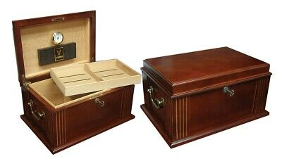 Prestige Import Group Caesar Antique Style Cigar Humidor